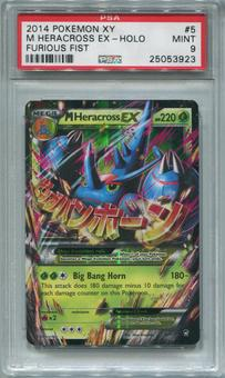 Pokemon Furious Fists Single M Heracross EX 5/111 - PSA 9  *25053923*