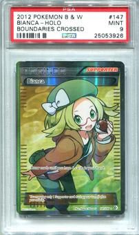 Pokemon Boundaries Crossed Single Bianca 147/149 FULL ART - PSA 9  *25053926*