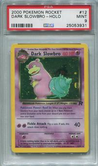 Pokemon Team Rocket Single Dark Slowbro 12/82 - PSA 9  *25053931*