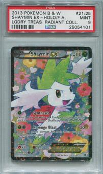 Pokemon Legendary Treasures Radiant Collection Single Shaymin EX RC21/RC25 - PSA 9 *25054101*