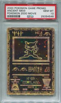 Pokemon 2000 Movie Promo Ancient Mew Holo PSA 10