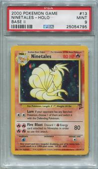 Pokemon Base Set 2 Single Ninetales 13/130 - PSA 9  *25054795*