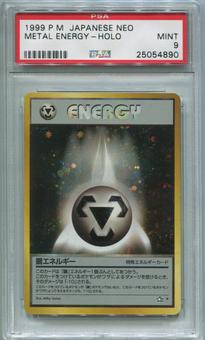 Pokemon Japanese Neo Single Metal Energy - PSA 9  *25054890*