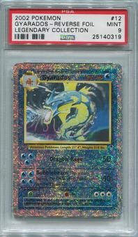Pokemon Legendary Collection Single Gyarados 12/110 REVERSE HOLO - PSA 9  *25140319*