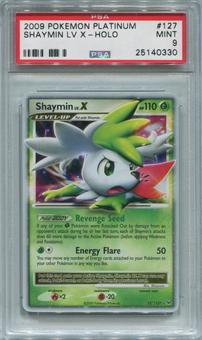 Pokemon Platinum Single Shaymin LV. X  127/127  -  PSA 9  *25140330*