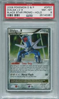 Pokemon Diamond & Pearl Promo Single Dialga LV. X DP37  -  PSA 8  *25140361*