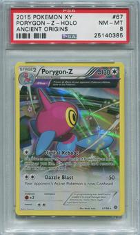 Pokemon XY Ancient Origins Single Porygon-Z 67/98  -  PSA 8  *25140385*