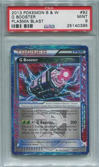 Pokemon Plasma Blast Single  G Booster 92/101 - PSA 9  *25140395*