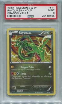 Pokemon Black & White Dragons Vault Single Rayquaza 11/20  -  PSA 9  *25140405*