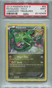 Pokemon Legendary Treasures Single Rayquaza 93/113  -  PSA 9  *25140406*
