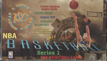 1994/95 Topps Stadium Club Series 1 Basketball Jumbo Box