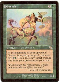 Magic the Gathering Judgment Single Genesis - SLIGHT PLAY (SP)
