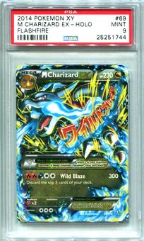 Pokemon XY Flashfire Single M Charizard EX 69/106  -  PSA 9  *25251744*