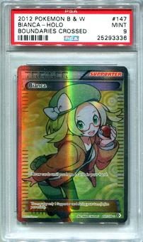Pokemon Boundaries Crossed Single Bianca 147/149  -  PSA 9  *25293336*