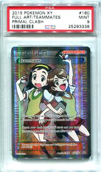 Pokemon Primal Clash Single Teammates 160/160  FULL ART  -  PSA 9  *25293338*