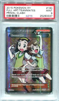 Pokemon Primal Clash Single Teammates 160/160 FULL ART  -  PSA 9  *25293337*