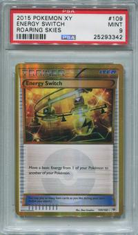 Pokemon Roaring Skies Single Energy Switch 109/108  -  PSA 9  *25293342*