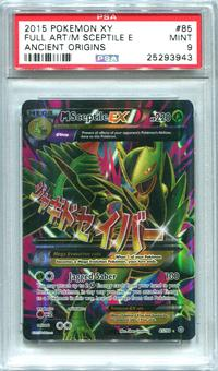 Pokemon Ancient Origins Single M Sceptile EX 85/98  -  PSA 9  *25293943*