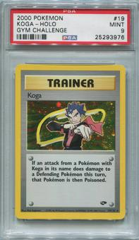 Pokemon Gym Challenge Single Koga 19/132  -  PSA 9  *25293976*