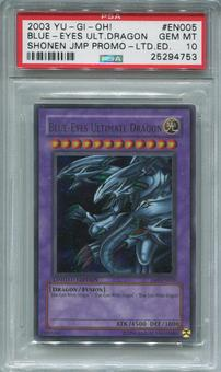Yu-Gi-Oh Shonen Jump Promo Blue-Eyes Ultimate Dragon Ultra Rare  -  PSA 10