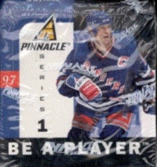 1996/97 Pinnacle Be A Player Series 1 Hockey Hobby Box