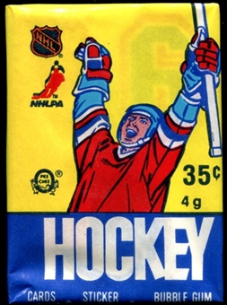 1985/86 O-Pee-Chee Hockey Wax Pack