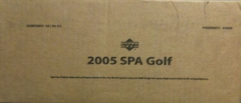 2005 Upper Deck SP Authentic Golf 12-Box Hobby Case