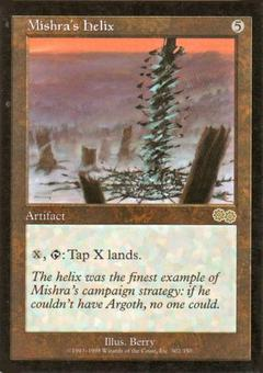 Magic the Gathering Urza's Saga Single Mishra's Helix - NEAR MINT (NM)