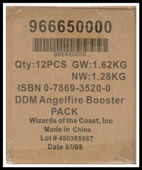 WOTC Dungeons & Dragons Miniatures Angelfire Booster Case (12 ct.)