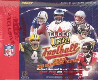 2005 Fleer Ultra Football Hobby Box (Upper Deck)