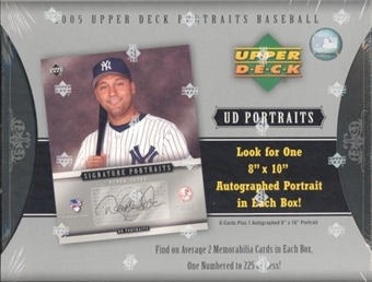 2005 Upper Deck Portraits Baseball Hobby Box