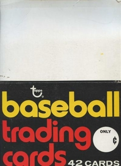 1975 Topps Baseball Rack Box