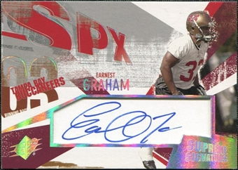 2003 Upper Deck SPx Supreme Signatures #SSEG Earnest Graham Autograph