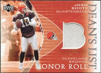 2003 Upper Deck Honor Roll Dean's List Jersey #DLJB Josh Booty