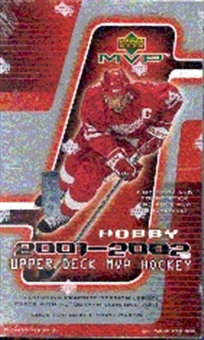 2001/02 Upper Deck MVP Hockey Hobby Box