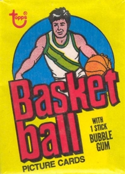 1978/79 Topps Basketball Wax Pack
