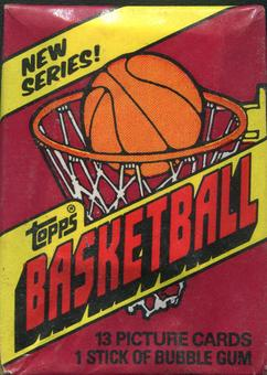 1981/82 Topps Basketball Wax Pack