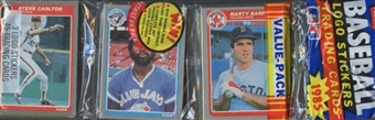 1985 Fleer Baseball Rack Pack