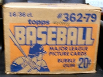 1979 Topps Baseball Wax 16-Box Case