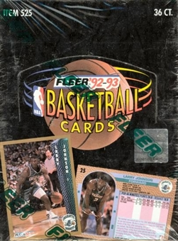 1992/93 Fleer Series 1 Basketball Hobby Box