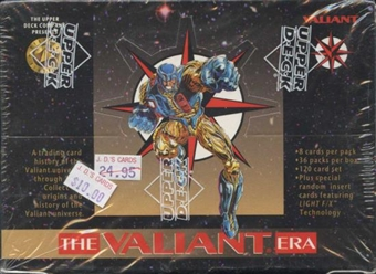 The Valiant ERA Trading Cards Box (1993 Upper Deck)