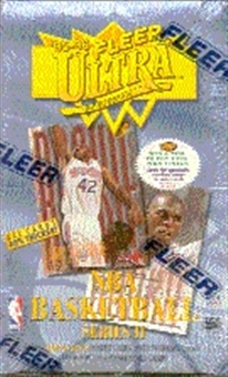1995/96 Fleer Ultra Series 2 Basketball Hobby Box