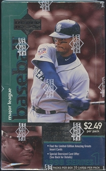 1998 Upper Deck Series 1 Baseball 36 Pack Box