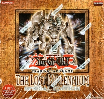 Upper Deck Yu-Gi-Oh Lost Millennium Special Edition Box
