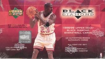 1998/99 Upper Deck Black Diamond Basketball Retail Box