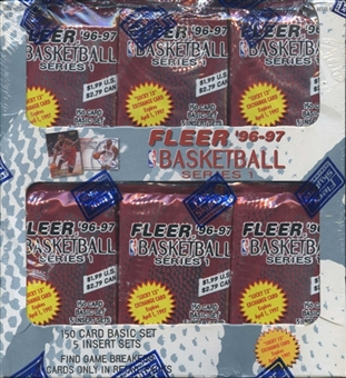 1996/97 Fleer Series 1 Basketball Retail Box