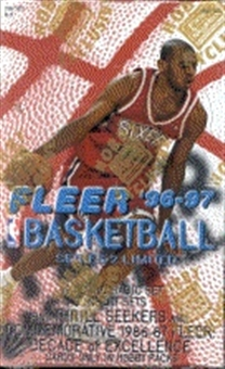 1996/97 Fleer Series 2 Basketball Hobby Box