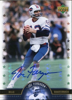 2005 Upper Deck Legends Legendary Signatures #JF Joe Ferguson