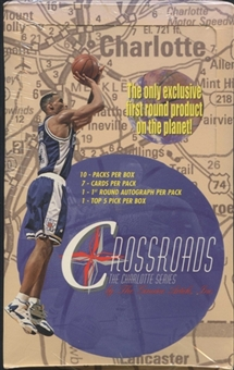 1997/98 Crossroads The Charlotte Series Basketball Hobby Box
