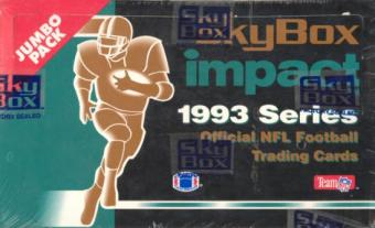 1993 Skybox Impact Football Jumbo Box